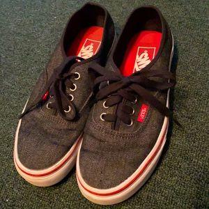 Vans boys shoes size 6